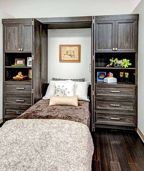 Bifold Murphy Bed Wall Unit