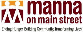 Manna On Main Street Food Bank Logo