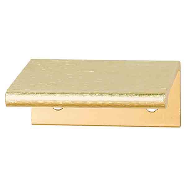 Platform Handle, Brushed Brass, 50mm