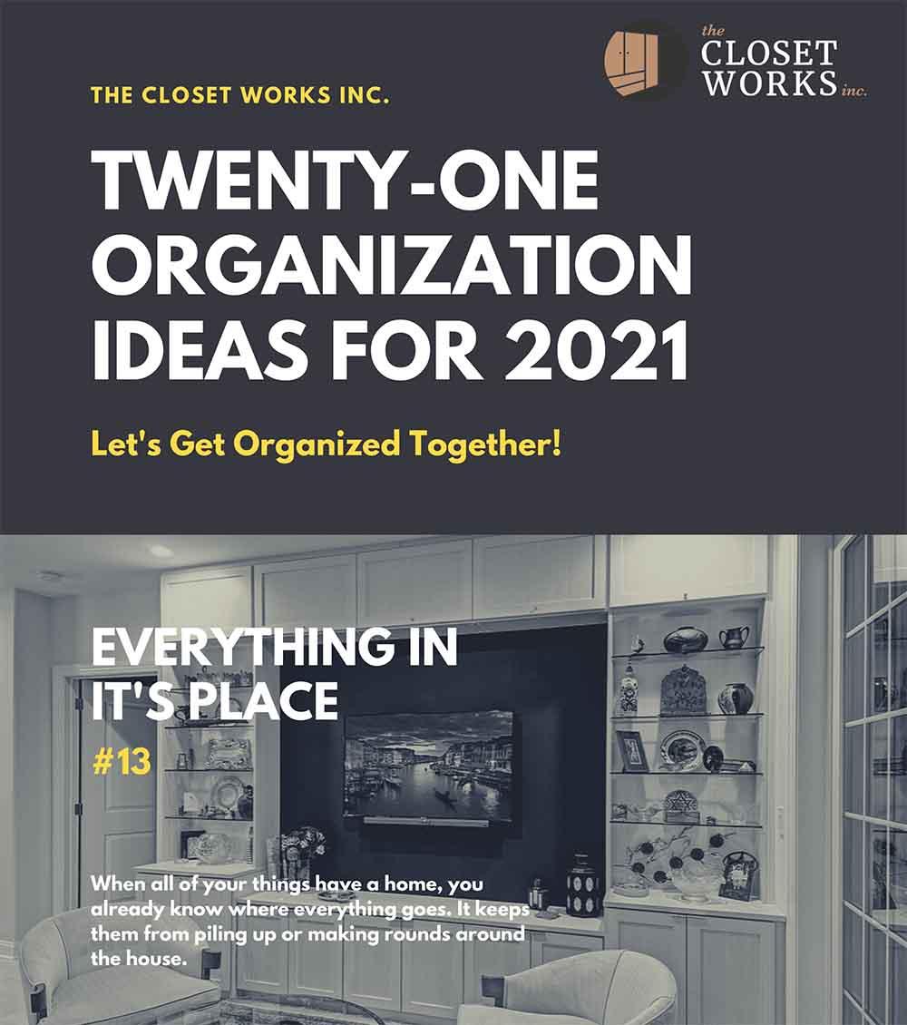 Organization Ideas for 2021