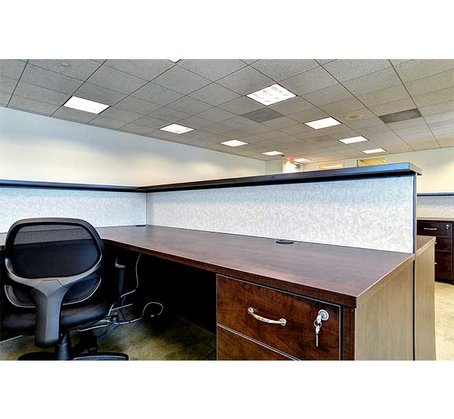 Custom office furniture made with high quality TFL