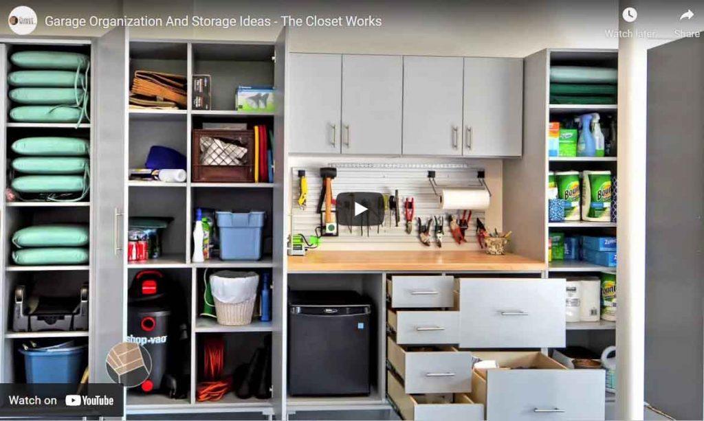 Garage Organization Video Thumbnail