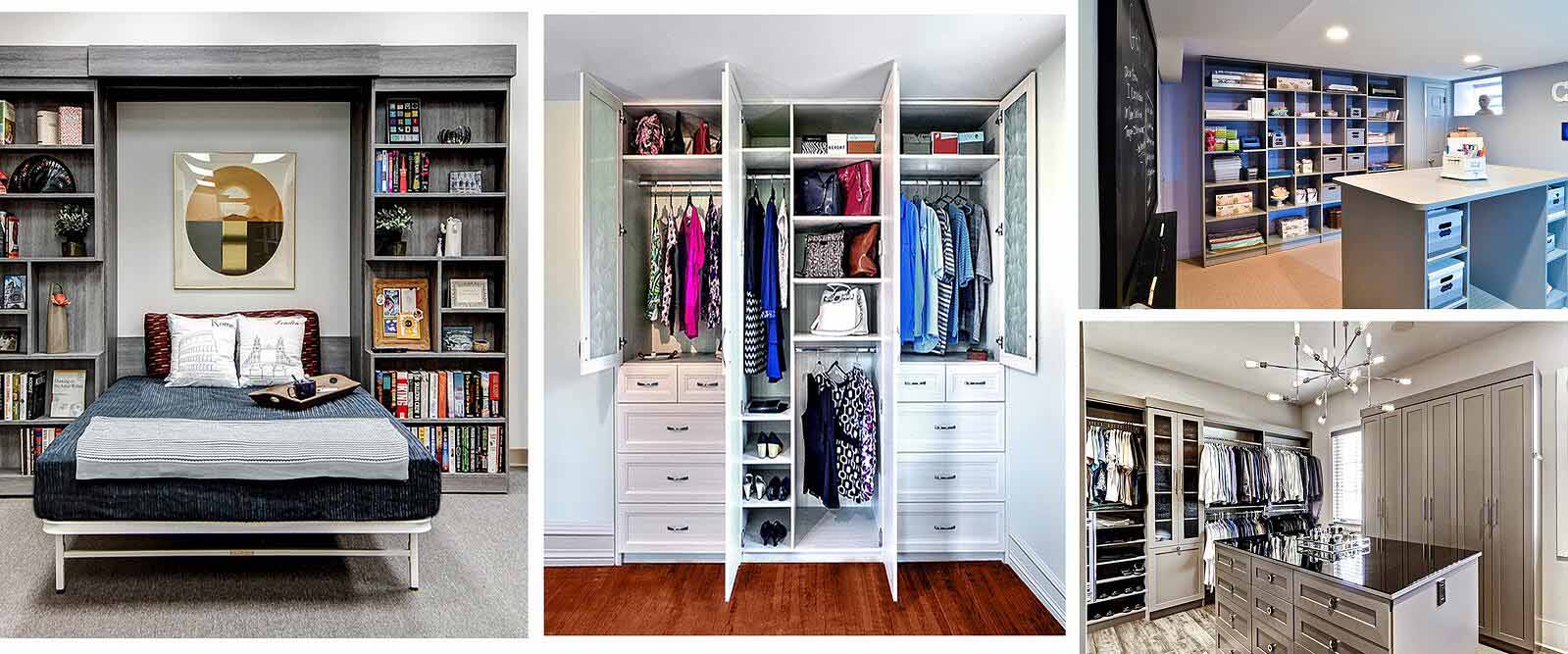Custom closets and organizers ideas