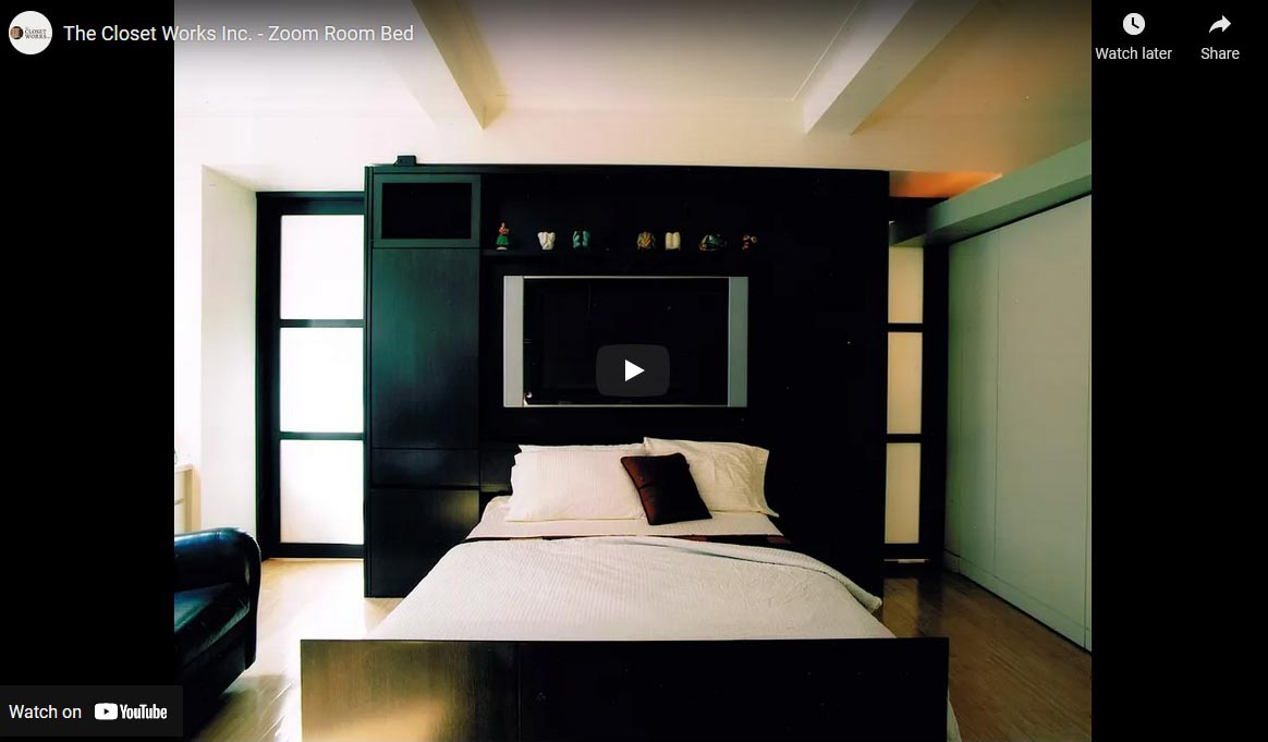 Zoom Room bed video thumbnail