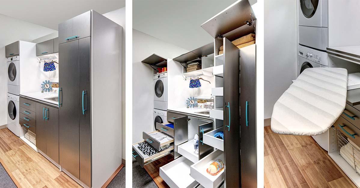 Custom laundry room organization ideas for Delaware County PA