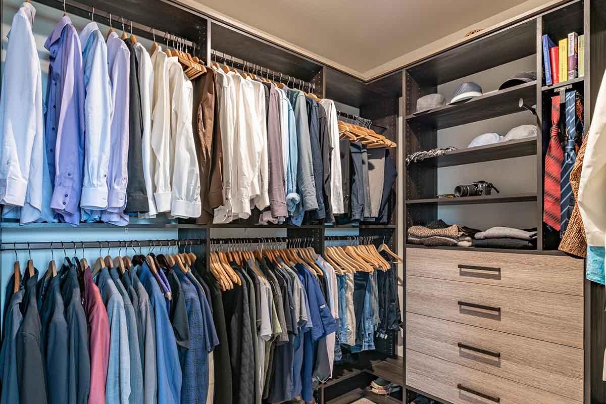 Closet design in Chester County PA
