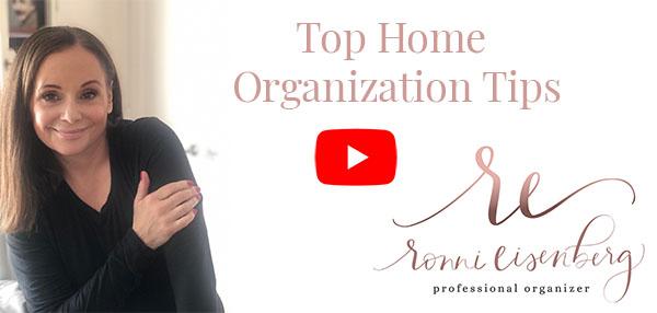 Top Organizing Tips Video Thumbnail