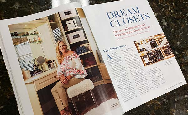 The Closet Works featured in Main Line Magazine