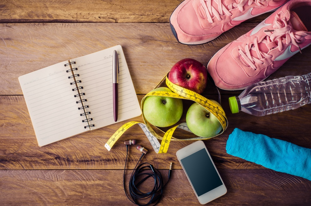 New Years Resolution Gift Exercise and Fitness Items