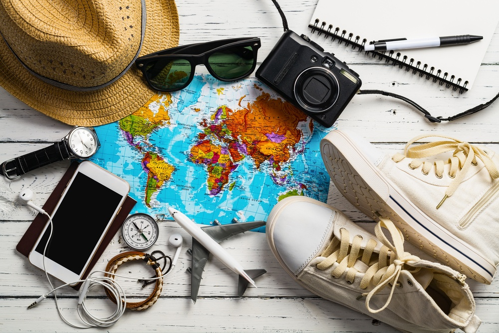 New Years Resolution Gift Various Travel Accessories